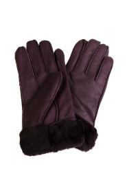 ciepłe rękawiczki z futerkiem