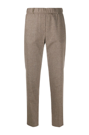 Tapered high waisted pants
