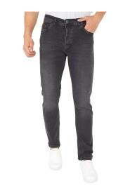 Mannen Spijkerbroek Stretch Regular Fit Jeans - DP18