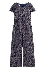 Bexley Glitter Print Party Playsuit