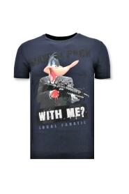 T shirt Shooting Duck Gun