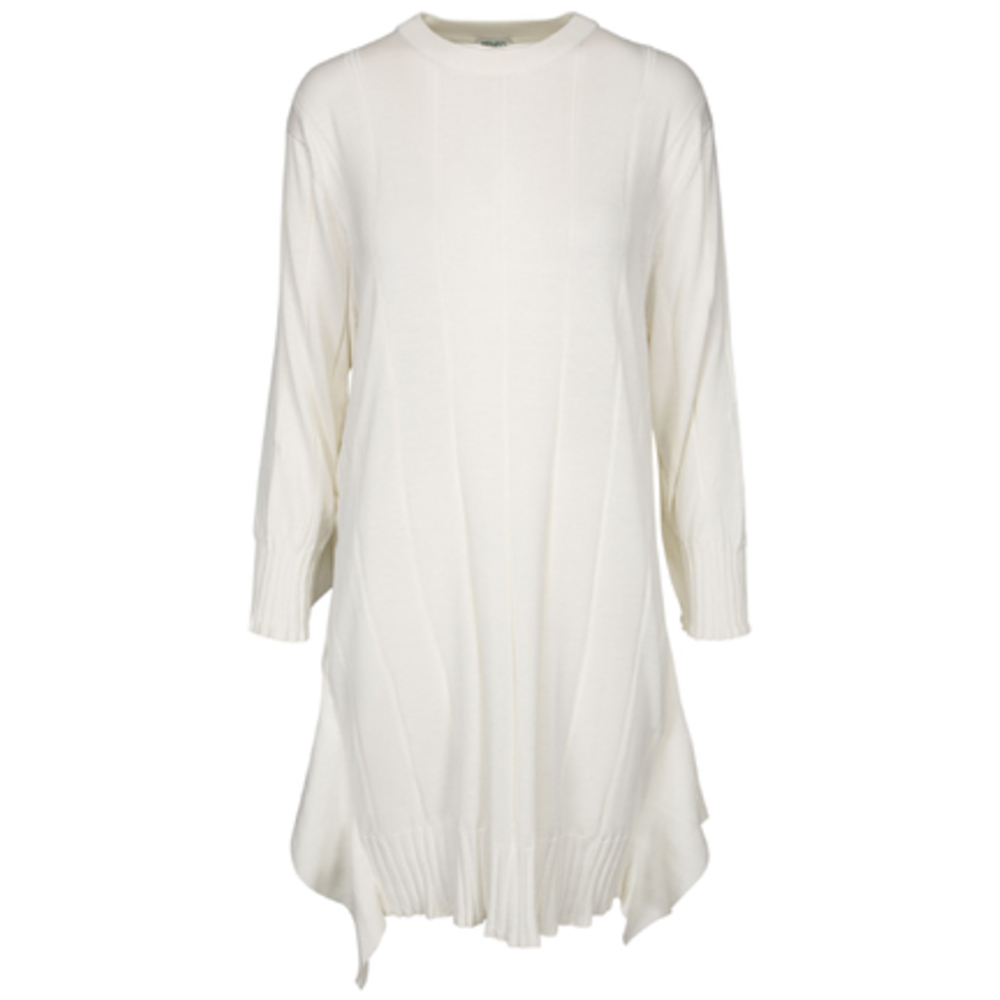 Silk cotton jumper dress