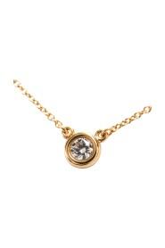 Pink Gold (18K) Diamond Pendant Necklace