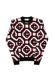 3D Monogram sweater