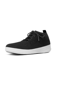 Sort Fitflop Uberknit Slip-On High Top Sneaker