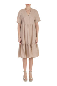 OVER POPLIN DRESS WITH ROPE