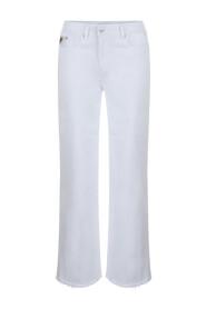 Hvit Lois Lois Megalia Culotte - White Bukse