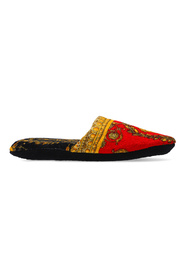 Slippers with Baroque print