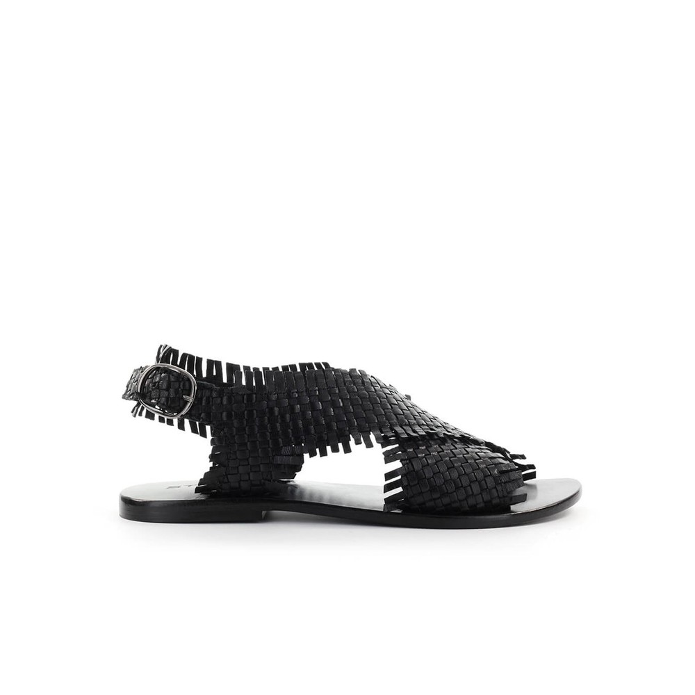 BRAIDED FLAT SANDAL