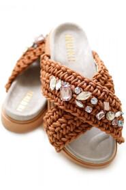 Woven Stones sandals