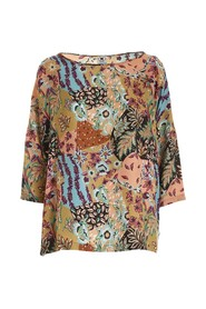 All-over patterned blouse
