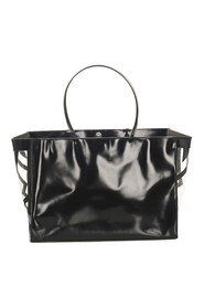 Patent Leather Tote Bag Leather