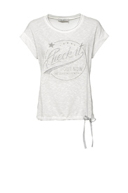 804104 t-shirt linnen check it