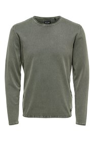 Knitted Pullover Solid
