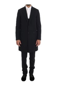 Wool Long 3 Piece Two Button Suit