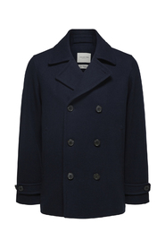Slhsustainable Iconics Peacoat W Outerwear
