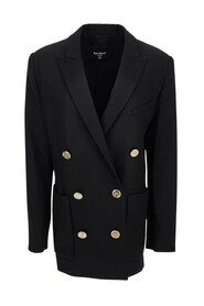 Blazer With Double-Breasted Button Fastening