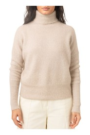 Soft Wide Turtleneck Genser