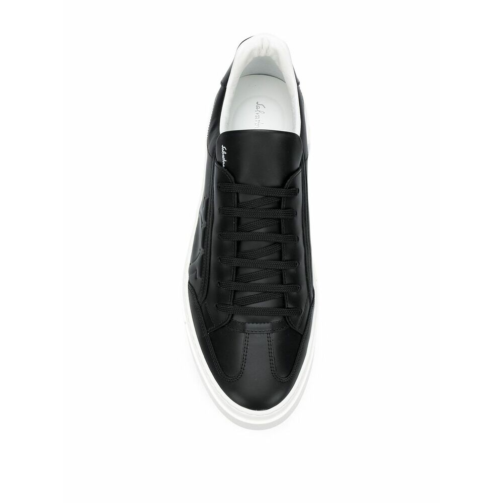 Black Sneakers | Salvatore Ferragamo | Sneakers | Herenschoenen