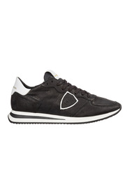 Leather trainers sneakers tropez