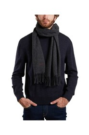 Amour embroidered wool scarf