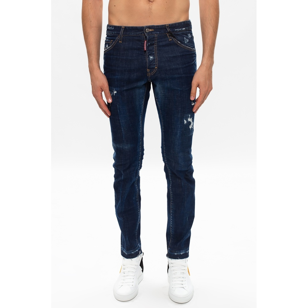 Dsquared2 NAVY BLUE Cool Guy Jean jeans Dsquared2