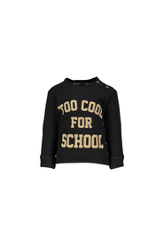 FLO Sweater Too Cool for School F707-8336 zwart