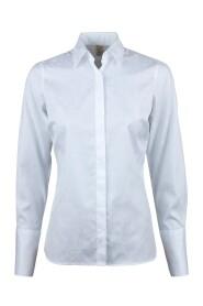 Skjorte med skjult lukning