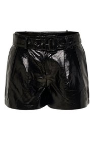 Shorts Leather look