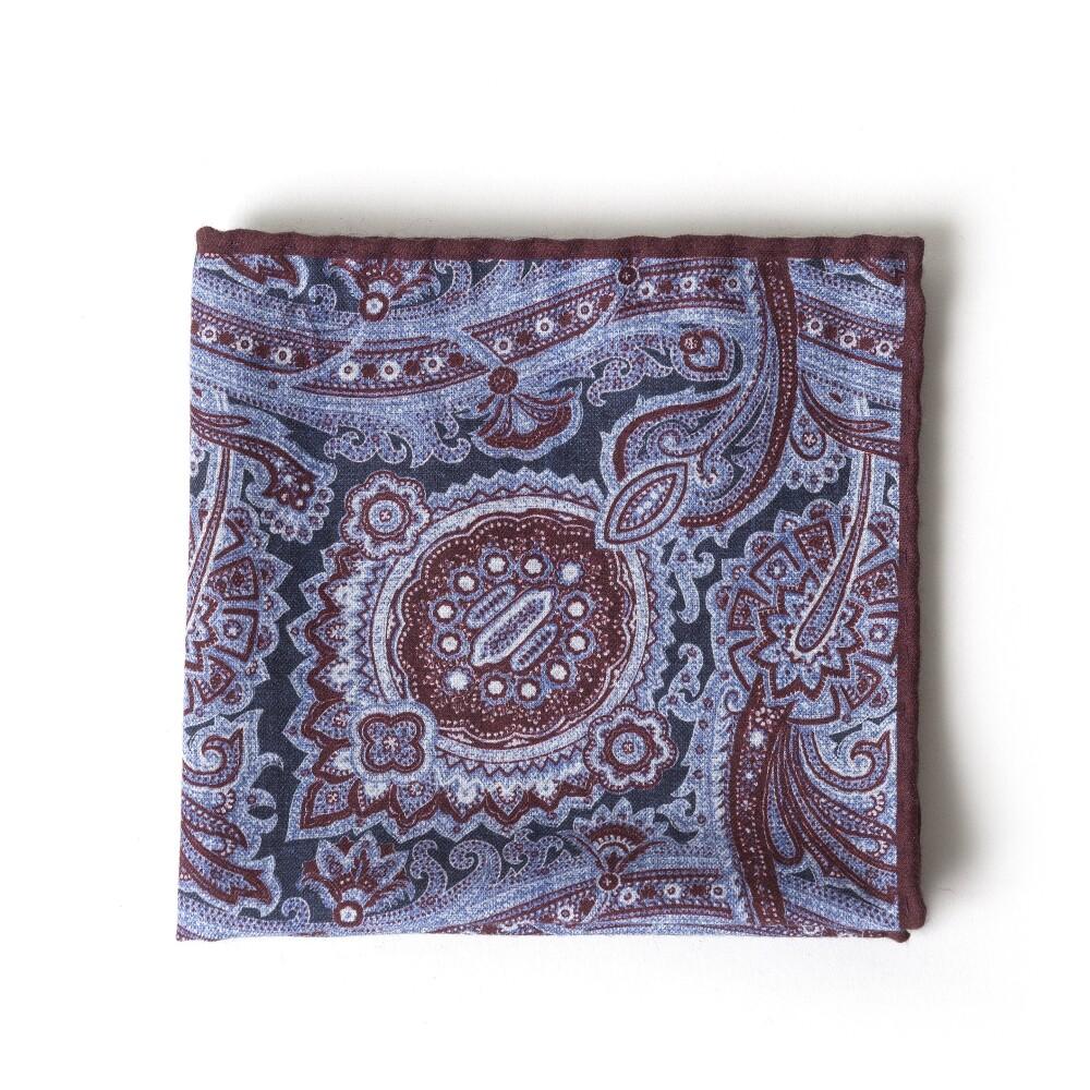 Purple POCHETTE | Eleventy | Sjaals | Heren accessoires