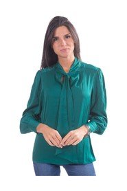 Solid Color Blouse