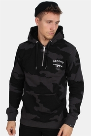 Defend Paris Eros Camo Hoodie Black/Black