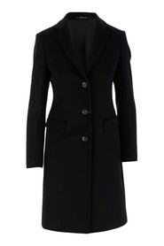 Tagliatore single-breasted coat made of virgin wool