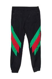Brukte Web Stripe Printed Synthetic Joggers
