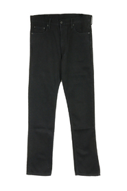 Diag-stripe jeans