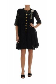 A-line Taormina Lace Crystal Dress