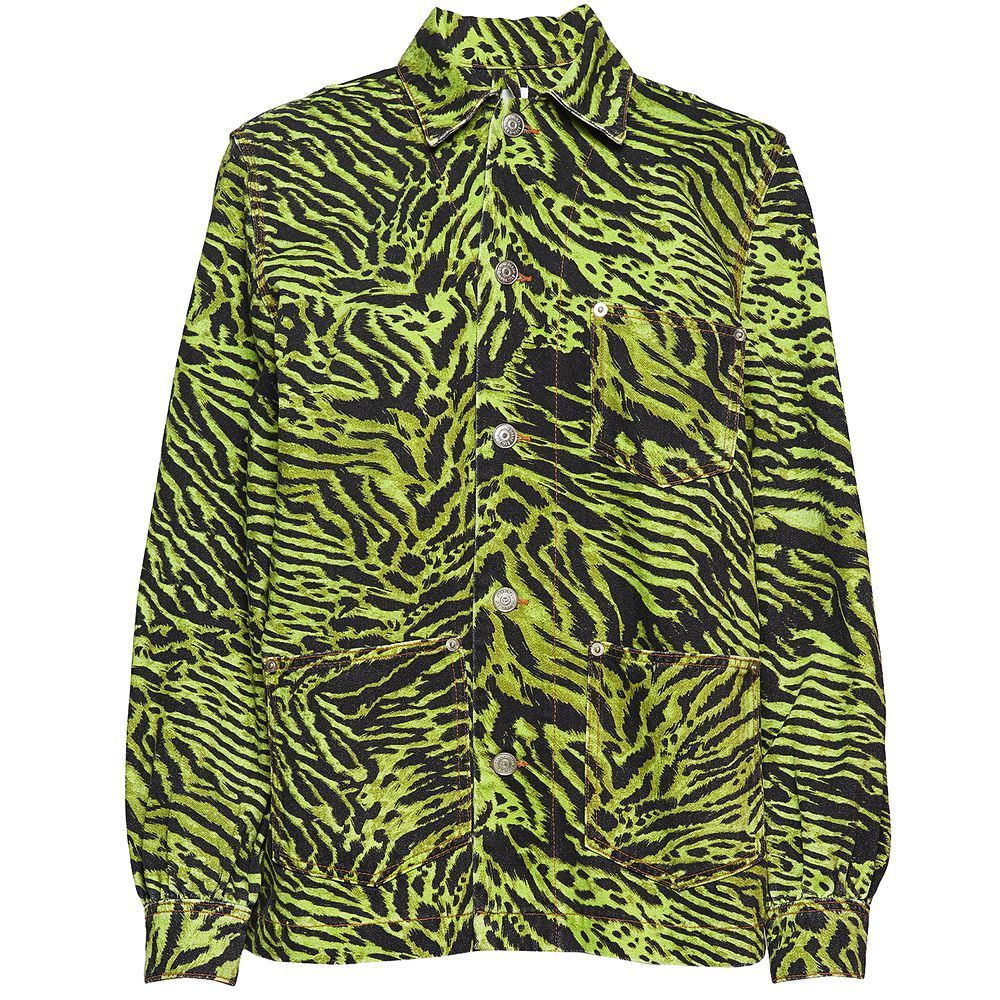 Denim Jacket LIME TIGER
