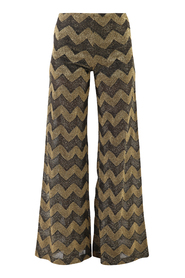 wide leg fit trousers