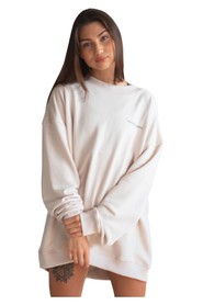 Oversized Crewneck Basic Sand