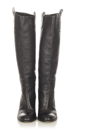 Begagnade GG Leather Boots Calf
