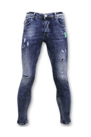 Exclusive Paint Drops Jeans - Skinny Jeans
