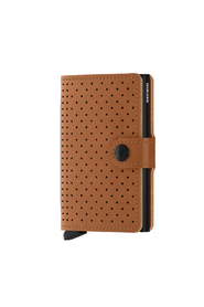 Secrid Card Holder Perforated Brown