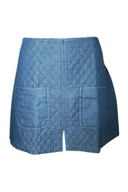 Quilted Mini Skirt -Pre Owned Condition Very Good