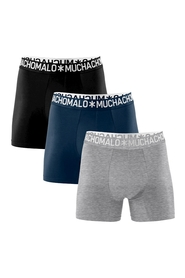 Cotton boxershorts 3 pk 1132