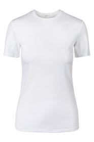 Hvit Julie Josephine Agnes T-Skjorte