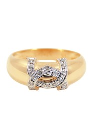 18K Dian Diamond Ring Metal 18K