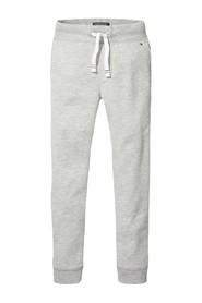 TOMMY HILFIGER KB0KB04139 BASIC SWEATPANT PANTS Unisex Boys GREY HEATHER