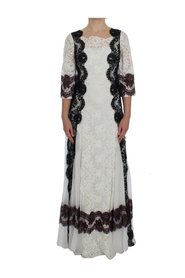 Floral Lace Full Length Jurk