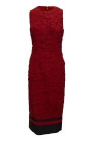 Silk-Blend Textured Maxi Dress