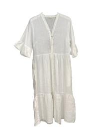 Angela Linen Dress
